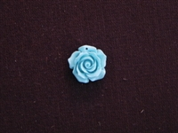 Rose Turquoise Acrylic Resin Full Top Drilled Hole