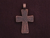 Pendant Antique Copper Colored Pattern Cross