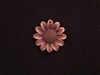 Pendant Antique Copper Colored Sun Flower