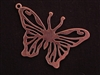 Pendant Antique Copper Colored Giant Buttefly
