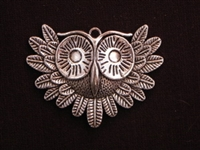 Pendant Silver Colored Hoot Owl