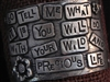American Pewter Leather Cuff Plate SO TELL ME WHAT IT IS YOU WILL DO WITH YOUR WILD AND PRECIOUS LIFE