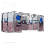 Albany 10 X 20 Ft Box Truss Display Booth