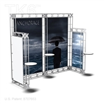 Anchorage 10 X 10 Ft Box Truss Booth Display