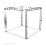 Bethel 10 X 10 Ft Box Truss Display Booth