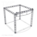 BETHAEL - 10X10 TRADE SHOW TRUSS BOOTH WITH SIGNAGE KIT<BR>[FRAME ONLY]