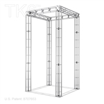 Boeing 10 Ft X 10 Ft Box Truss Booth