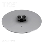 ROUND BASE PLATE, 9 INCH