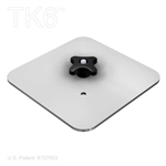 SQUARE BASE PLATE, 9 INCH