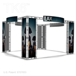 Angeles 20 X 20 Ft Box Truss Trade Show Display Booth