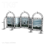 Lyon 10 X 20 Ft Box Truss Trade Show Display Booth
