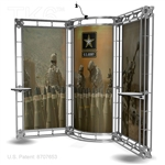Mosta - 10 X 10 Ft Box Truss Trade Show Display Booth
