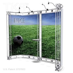 Nice - 10 X 10 Ft Box Truss Trade Show Display Booth