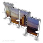 Omaha - 10 X 20 Ft Box Truss Trade Show Display Booth