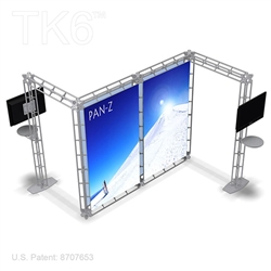 Pattani - 10 X 10 Ft Box Truss Trade Show Display Booth