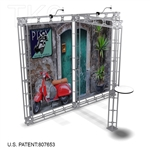 Pisa - 10 X 10 Ft Box Truss Trade Show Display Booth