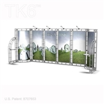 Berlin 10 X 20 Ft Box Truss Trade Show Display Booth