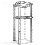 JOEL - 5FT X 5FT X 13FT ALUMINUM TK8 SQUARE SHAPE TOWER