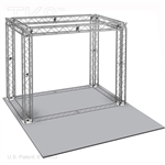 Noah - 10 Ft X 10 Ft TK8 Aluminum Box Truss Booth