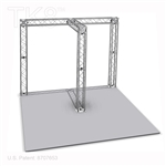 Ethan - 10 Ft X 10 Ft Aluminum TK8 Box Truss Booth