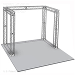 Joshua - 10 Ft X 10 Ft Aluminum TK8 Box Truss Booth