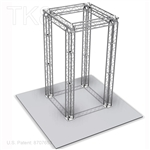 Jayden10 - 10 Ft X 10 Ft TK8 Aluminum Box Truss Booth