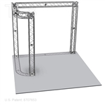 Anthony - 10 Ft X 10 Ft TK8 Aluminum Box Truss Booth
