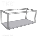 Mason - 10 Ft X 20 Ft TK8 Aluminum Box Truss Booth