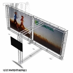 Alexander-Base - 10 Ft X 20 Ft TK8 Aluminum Box Truss Booth