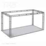Mason 10 - 10 Ft X 20 Ft TK8 Aluminum Box Truss Booth