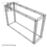 Keilan - 18ft x 5ft x 11ft Tall Tk8 Aluminum Box Truss Booth