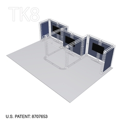 John - 20ft x 30ft Tk8 Aluminum Box Truss Booth