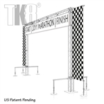 Rigger - 20ft by 12ft TK8 Truss Start & Finish Line Arch with stabelizing Out-Riggers