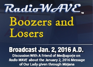 Boozers and Losers - Radio Wave January 2, 2016
