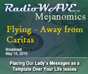 Flying - Away from Caritas - Mejanomics May 14, 2015