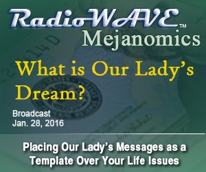 What is Our Lady's Dream?- Mejanomics January 28, 2016