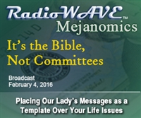 It's the Bible, Not Committees- Mejanomics February 4, 2016