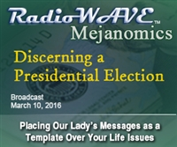 Discerning a Presidential Election- Mejanomics March 10, 2016