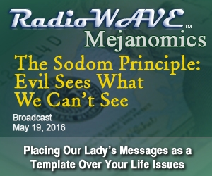 The Sodom Principle: Evil Sees What We Can't See- Mejanomics May 19, 2016