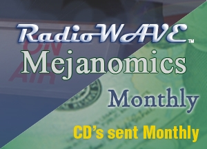 Radio Wave & Mejanomics CD's Monthly Subscription