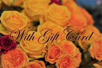Roses and Gift Card