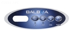 Balboa Overlay 4 Button Mini Oval LCD, 11852