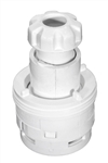 Waterway Standard Poly Jet Directional Nozzle, White, 210-6040