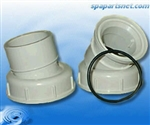 "Jacuzzi Swivel Union Assy 1.5"" sl / 2"" spg"