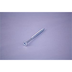 Screw 8 x 2 1 2 zinc Tatum Manufacturing