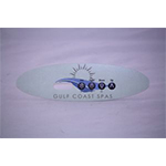Gulf Coast Spas Small Oval Overlay for Topside Control
