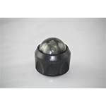 Massage Ball w Holder Graphite Pilates Spas