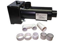 HEATER ASSEMBLY: HT-1 EM-201/203 WITH THERMOSTAT & HI-LIMIT