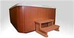 SmartStep Storage Steps 36 Redwood Brown Color