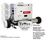 HydroQuip Icon 15 Retro-fit Kit, 4.0 KW Heater, CS7109B-US-4.0-F